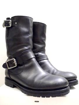 美品13万★JIMMY CHOOジミーチュウ STANFORD バイカー ブーツ