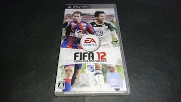 PSP FIFA12 ワールドクラスサッカー / ケース・解説書付き