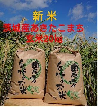 茨城令和3年産新米あきたこまち玄米20�s