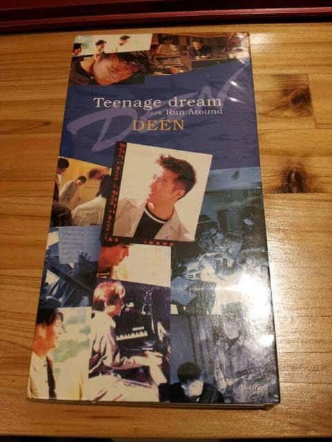 DEEN*Teenagedream◇CDシングル美品☆RunAround◯  < タレントグッズの