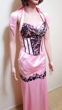 新品タグ付☆ageha☆デカビジュ&レースの2Pドレス☆3点で即落