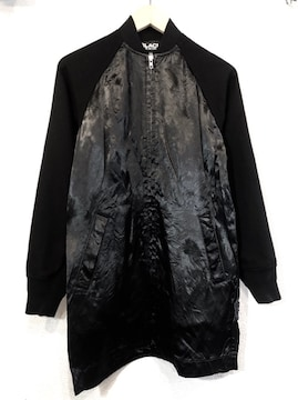 BLACK COMME des GARCONS■スタジャン■コムデギャルソン■黒