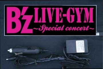 光るプレート『B'z』EL発光 ピンク