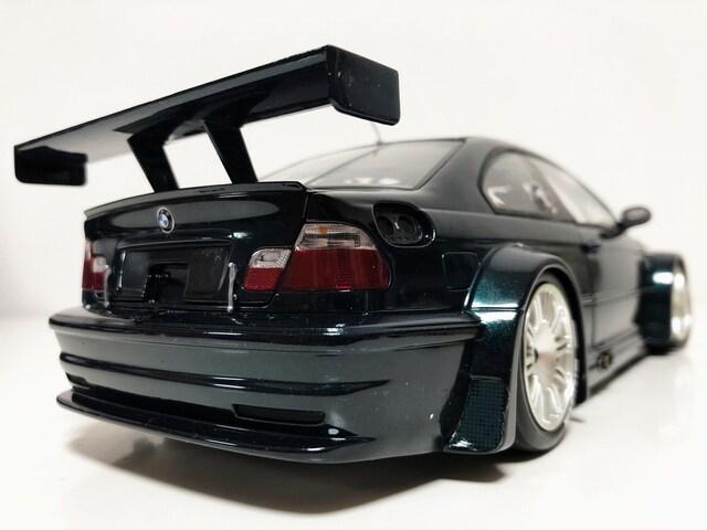 PMAミニチャンプス/BMW M3 GTR ディーラー純正 レアカラー 1/18 < ホビーの
