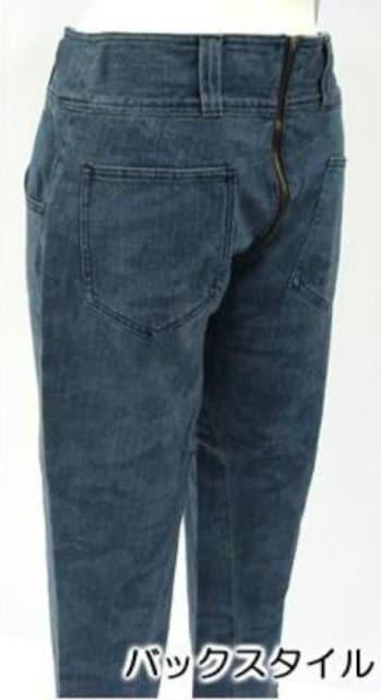 ◆◇セパレートデザイン デニムパンツ M◇◆ < 女性ファッションの