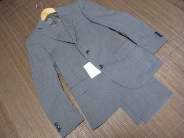 ☆ユナイテッドアローズ greenlabel 2B ストライプ セットアップ スーツ/グレー☆新品