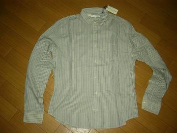新品LEVI'SリーバイスMADE&CRAFTEDストライプシャツ3