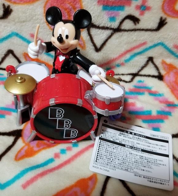 TDS☆ミッキー【ミニスナックケース】ビッグバンドビート★ドラムミッキー  < おもちゃの