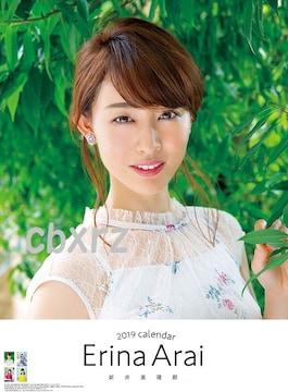 新井恵理那2019直筆サインカレンダー未使用1つ