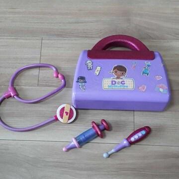 おもちゃドクター バッグ 聴診器 注射器 体温計