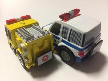 チョロQ・警察庁車両、ちびっこ消防車イエロー(他も出品中)