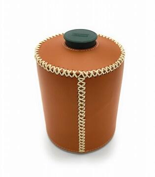0292 450g用OD缶カバー レザーブラウン 円柱タイプ