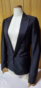 国内正規 ディオールオム スモーキングジャケット黒 最小38 ブラックシャイニー タキシードJK