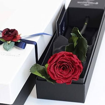 Makefuture Diamond Rose プリザーブドフラワー 花 誕生日 一輪