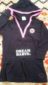 *90�p・DREAM BABYS 丈長めトップス*