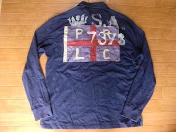 RALPH LAUREN ラルフローレン ラガーシャツ USA-L