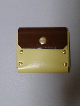 新品 /ご注意変りモノの /ハンドメイドのコインケースです !