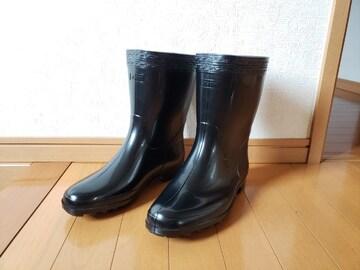 ASAHI アサヒ レインブーツ 作業長靴 ハイゼクト 紳士 メンズ 黒