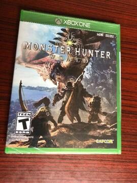 MONSTER HUNTER WORLD Xbox One 北米版 ソフト