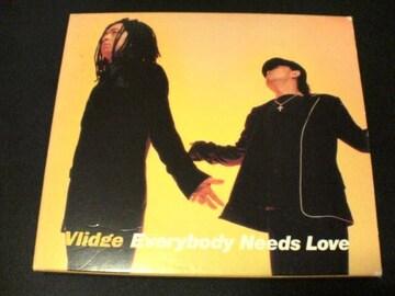 Vlidge CD Everybody Needs Love初回盤