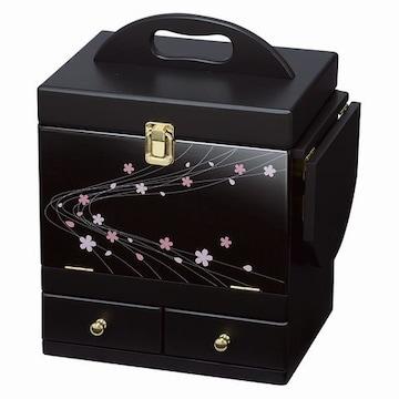 コスメボックス(ブラック) MUD-6163BK