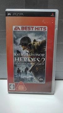 PSP メダル オブ オナー ヒーローズ2 EA BEST HITS