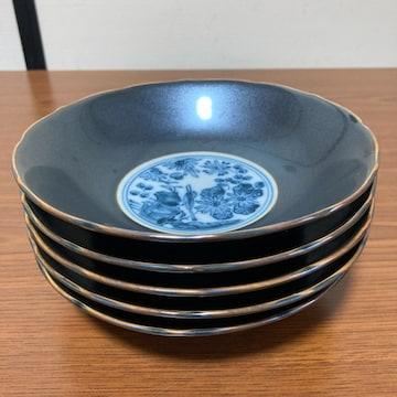 高級 日本食器 花と鳥柄 鉢 5枚 未使用