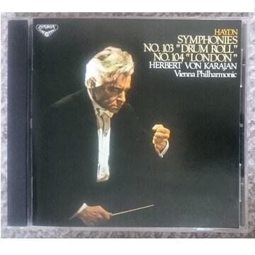 KF ハイドン 交響曲第103番 太鼓連打 第104番 ロンドン