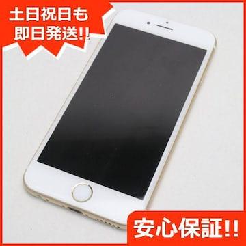 安心保証●超美品●SOFTBANK iPhone6S 64GB ゴールド●白ロム
