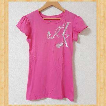 ARMANI EXCHANGE アルマーニエクスチェンジ Tシャツ XS ラインストーン