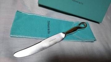 正規美レア TIFFANYティファニー ペレットビーン SV925ペーパーナイフ レターオープナー