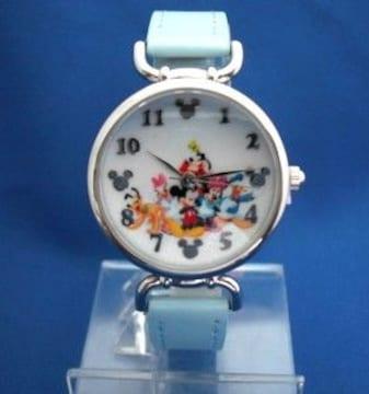ディズニー腕時計-ミッキー、ミニー、ドナルドダックア