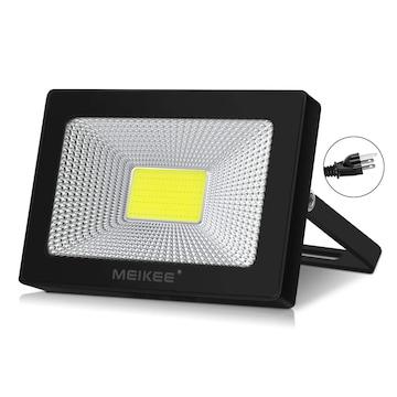 改良版 led 投光器10w 昼光色 作業灯 6500K 120度発光角度