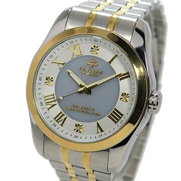 ジョンハリソン ソーラー 電波時計 メンズ 腕時計JH-096MGW