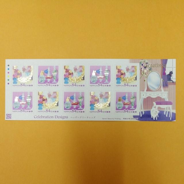 84円記念切手シールシート1枚 普通郵便送料無料  < ホビーの