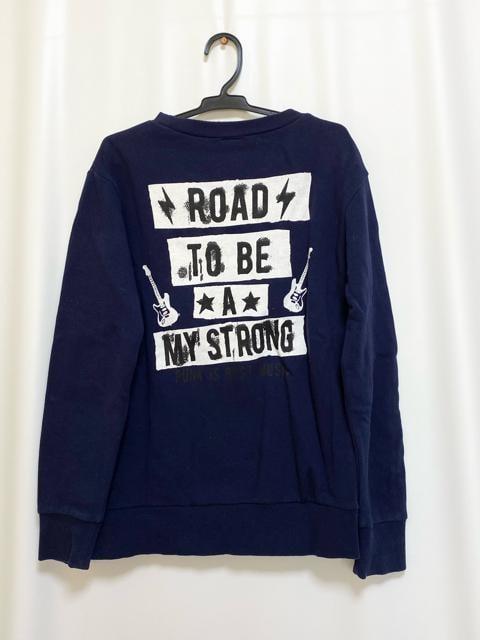 値下げ☆RAD CUSTOM 紺色トレーナー < ブランドの