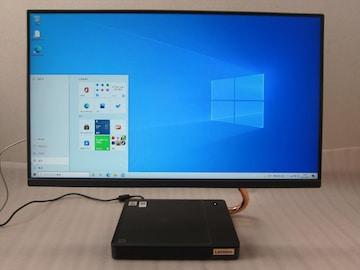 レノボ A550i Core i5-10400T/8G/SSD+HDD/23.8型フルHD液晶