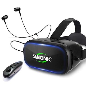 3D VRゴーグル (ブラック)