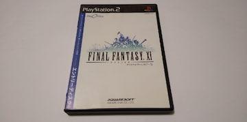 PS2/【4本迄送料180円!!】ファイナルファンタジーXIプレイオンライン エントリーディスク