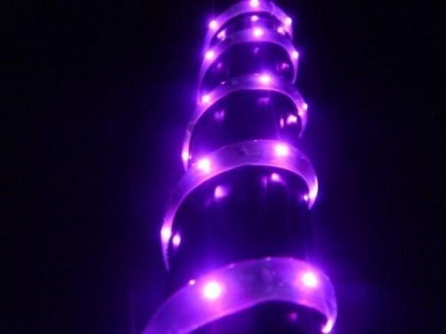 超発光/薄型/防水 LEDテープ 90�p ピンク/桃 < 自動車/バイク