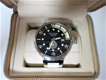 ☆LOUIS VUITTON ルイヴィトン タンブール ダイビング 時計 自動巻き/メンズ