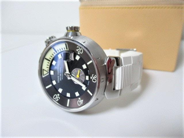 ☆LOUIS VUITTON ルイヴィトン タンブール ダイビング 時計 自動巻き/メンズ < ブランドの