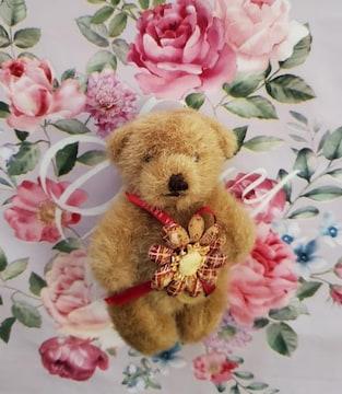 ピンクハウス PINKHOUSE  手足可動クマ コサージュ くまブローチ 熊
