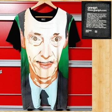 graniph グラニフ アート Tシャツ M フェイス