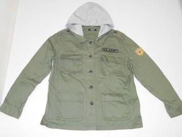 衣類 レディース 4Lサイズ 長袖上着 フード取り外し可能