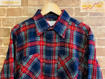 表記M!80's ビンテージ ネルシャツ 古着 アメカジ グランジ ロック カートコバーン