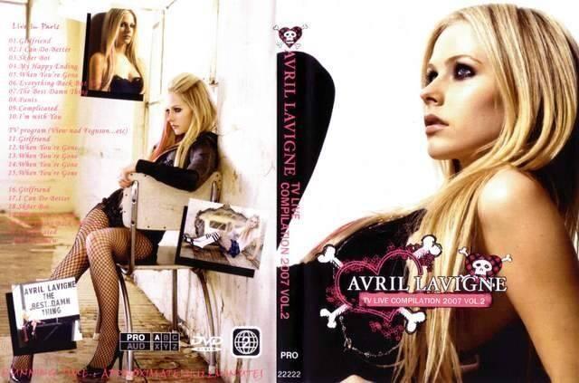 AVRIL LAVIGNE LIVE COMPILATION 2007Vol,2  < タレントグッズの