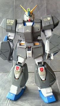 改修塗装済完成品 RX-78NT-1      アレックス チョバムアーマー 1/100 MG