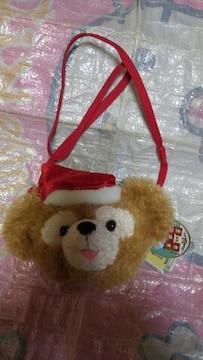 2009☆TDS ★クリスマス☆ダッフィー★フェイスポーチ★オープンマウス