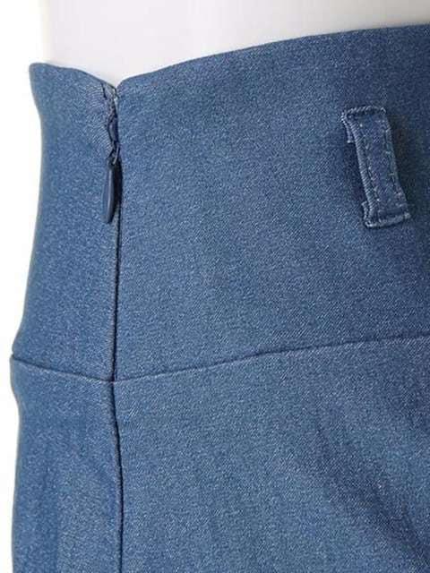 即完売★リップサービス★ハイウエストベルト付スカート ホワイト/M 新品タグ付 未開封 < ブランドの